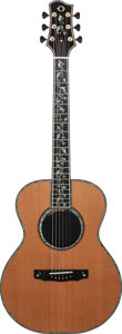 Musical Instruments:Acoustic Guitars, 2009 Olson Museum Natural Acoustic Guitar, Serial # 1280....