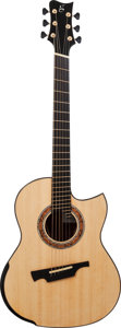 Musical Instruments:Acoustic Guitars, Late 2000's Michael Greenfield GF Natural Acoustic Guitar, Serial #235....