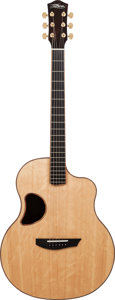 Musical Instruments:Acoustic Guitars, Late 2000's McPherson MG 3.5 Natural Acoustic Guitar, Serial #1632....