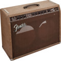 Musical Instruments:Amplifiers, PA, & Effects, 1960 Fender Super Amp Brown Guitar Amplifier, Serial # 00023....