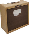 Musical Instruments:Amplifiers, PA, & Effects, 1957 Fender Bandmaster Tweed Guitar Amplifier, Serial # S02733....