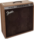 Musical Instruments:Amplifiers, PA, & Effects, 1962 Fender Concert Amp Brown Guitar Amplifier, Serial # 02903....