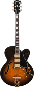 Musical Instruments:Electric Guitars, 1995 Gibson Master Model ES-5 Switchmaster Sunburst Archtop Electric Guitar, Serial # 93115027, Weight: 8 lbs....