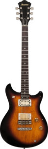 Musical Instruments:Electric Guitars, 1977 Ibanez ST-50 Sunburst Solid Body Electric Guitar, Serial #K794304, Weight: 7.6 lbs....