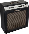 Musical Instruments:Amplifiers, PA, & Effects, 1960 Ampeg Reverberocket 2 Navy Blue Guitar Amplifier, Serial #018740....