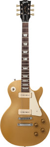 Musical Instruments:Electric Guitars, 1973 Gibson Les Paul Standard '58 Goldtop Solid Body ElectricGuitar, Serial # 891869, Weight: 8 lbs....