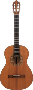 Musical Instruments:Acoustic Guitars, 1965 Jacques Favino Natural Classical Guitar....