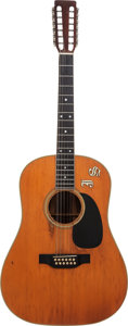 Musical Instruments:Acoustic Guitars, 1970 Martin D-12-35 Natural 12 String Acoustic Guitar, Serial # 265842....