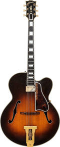 Musical Instruments:Electric Guitars, 1952 Gibson L5C Sunburst Archtop Electric Guitar, Serial # A11165, Weight: 7 lbs....