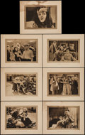 """Movie Posters:Drama, The Little White Savage (Universal, 1919). Lobby Cards (7) (11"""" X 14""""). Drama.. ... (Total: 7 Items)"""