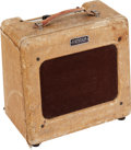 Musical Instruments:Amplifiers, PA, & Effects, 1950 Fender Princeton Tweed Guitar Amplifier, Serial # 1097....