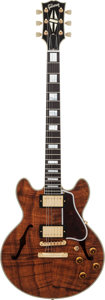 Musical Instruments:Electric Guitars, 2008 Gibson CS-356 Natural Semi-Hollow Body Electric Guitar, Serial# CS80403, Weight: 8.2 lbs....