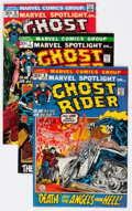 Bronze Age (1970-1979):Superhero, Ghost Rider Group of 19 (Marvel, 1972-) Condition: Average FN....(Total: 19 Comic Books)