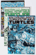 Modern Age (1980-Present):Superhero, Teenage Mutant Ninja Turtles #3-5 Group (Mirage Studios, 1985)....(Total: 3 Comic Books)