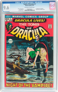 Tomb of Dracula #1 (Marvel, 1972) CGC NM+ 9.6 Off-white to white pages