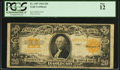 Large Size:Gold Certificates, Fr. 1187 $20 1922 Gold Certificate PCGS Fine 12.. ...