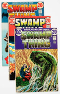 Bronze Age (1970-1979):Horror, Swamp Thing Group of 20 (DC, 1972-80) Condition: Average FN/VF....(Total: 20 Comic Books)