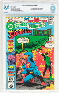 DC Comics Presents #26 Superman and Green Lantern (DC, 1980) CBCS NM/MT 9.8 White pages