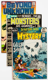 DC Bronze Age Science Fiction and Horror Comics Group of 28 (DC, 1970s) Condition: Average FN.... (Total: 28 Comic Books...