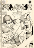 Original Comic Art:Covers, Jay Lynch Projunior #1 Cover Original Art (Kitchen Sink,1971)....