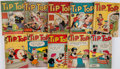 Books:Comics - Golden Age, [Comic Books.] Group of Ten Issues of Tip Top Comics. NewYork: 1940-1953. Average Condition: GD+....