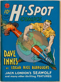 "Books:Comics - Golden Age, [Edgar Rice Burroughs.] Hi-Spot, No. 2 Featuring ""Dave Innesof Pellucidar."" Condition: VG-. Redding Ridge, CT: ..."