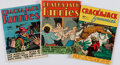 Books:Comics - Golden Age, [Comic Books.] Group of Three Issues of Crackajack Funnies,No. 15-17. Poughkeepsie, NY: Whitman Publishing Co.,...