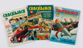 Books:Comics - Golden Age, [Comic Books.] Group of Three Issues of Crackajack Funnies.Poughkeepsie, NY: Whitman Publishing Co., 1940....