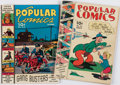 Books:Comics - Golden Age, [Comic Books.] Pair of Issues of Popular Comics. New York:Dell Publishing Company, 1939....