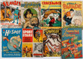 Books:Comics - Golden Age, [Comic Books.] Group of Eight Miscellaneous Comic Books. New Yorkand elsewhere: 1938-1945....
