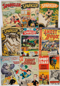 Books:Comics - Golden Age, [Tarzan]. Group of Nine Miscellaneous Comic Books. New York andelsewhere: 1944-1968. Average Condition: Fair....