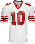 Football Collectibles:Uniforms, 1980's Steve Bartkowski Team Issued Atlanta Falcons Jersey - Kindler Collection....