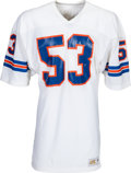 Football Collectibles:Uniforms, 1980's Randy Gradishar Team Issued Denver Broncos Jersey - Kindler Collection....