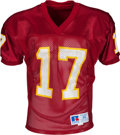 Football Collectibles:Uniforms, 1990's Charlie Ward Team Issued Florida State Seminoles Jersey - Kindler Collection....