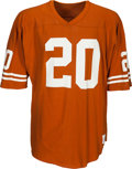 Football Collectibles:Uniforms, 1980's Earl Campbell Team Issued Texas Longhorns Jersey - Kindler Collection....