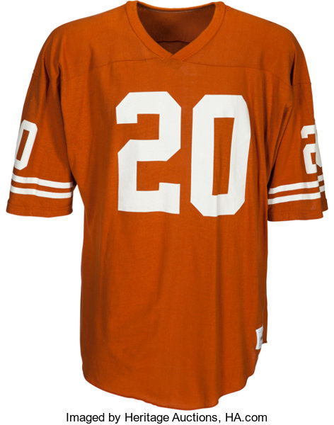 size 40 befb4 b19f3 1980's Earl Campbell Team Issued Texas Longhorns Jersey ...