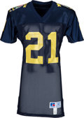 Football Collectibles:Uniforms, 1990's Desmond Howard Team Issued Michigan Wolverines Jersey - Kindler Collection....