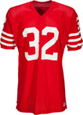 Football Collectibles:Uniforms, Circa Late 1970's O.J. Simpson Team Issued San Francisco 49ers Jersey - Kindler Collection. ...