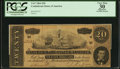 Confederate Notes:1864 Issues, T67 $20 1864 PF-3 Cr. 505.. ...