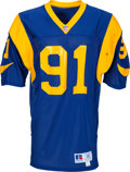 Football Collectibles:Uniforms, Circa 1990's Kevin Greene Team Issued Los Angeles Rams Jersey - Kindler Collection. ...