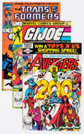 Modern Age (1980-Present):Miscellaneous, Marvel Modern Age Comics Group of 51 (Marvel, 1980s) Condition: Average NM-.... (Total: 51 Comic Books)