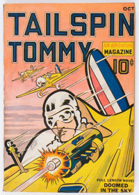 Tailspin Tommy Air Adventure Magazine V1#1 (C. J. H. Publications, 1936) Condition: VG/FN