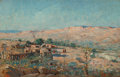 Fine Art - Painting, American:Contemporary   (1950 to present)  , Paul Richard Schumann (American, 1876-1946). Pair of New MexicoLandscapes. Oil on board, each. 9 x 13 inches (22.9 x 33...(Total: 2 Items)