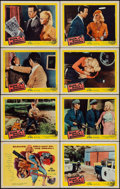 "Movie Posters:Crime, Guns, Girls and Gangsters (United Artists, 1959). Lobby Card Set of8 (11"" X 14""). Crime.. ... (Total: 8 Items)"