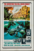"Movie Posters:Science Fiction, The Land That Time Forgot (American International, 1975). One Sheet(27"" X 41""), Pressbook & Ad Matte (8.5"" X 14""). Science ...(Total: 3 Items)"
