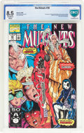 Modern Age (1980-Present):Superhero, The New Mutants #98 (Marvel, 1991) CBCS VF+ 8.5 Off-white to whitepages....