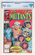 Modern Age (1980-Present):Superhero, The New Mutants #87 (Marvel, 1990) CBCS VF/NM 9.0 White pages....