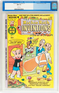 Bronze Age (1970-1979):Cartoon Character, Richie Rich Inventions #1 (Harvey, 1977) CGC NM 9.4 White pages....