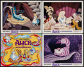 "Movie Posters:Animation, Alice in Wonderland (Buena Vista, R-1974). Lobby Card Set of 9 (11"" X 14""). Animation.. ... (Total: 8 Items)"