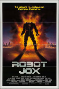 "Robot Jox & Other Lot (Triumph, 1990). One Sheet (27"" X 41"") & German Lobby Card Set of 18 (8.25""..."